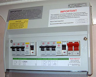 Consumer Units on electrical house wiring diagram